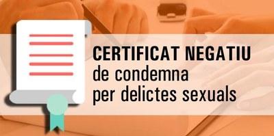 Certificat Delictes Naturalesa Sexual