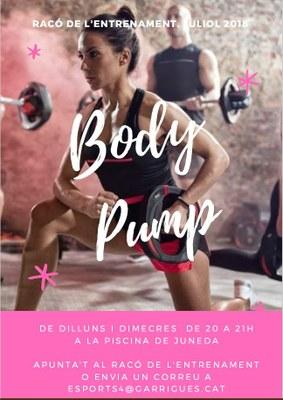 Racó entrenament_Body Pump 2018
