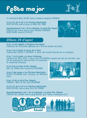 festa major 2011