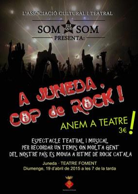 """""""A Juneda, cop de rock"""" faràreviure el diumenge al Teatre Foment l'època daurada del rock català"""