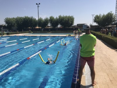 Acte de cloenda dels cursets de natació 2017