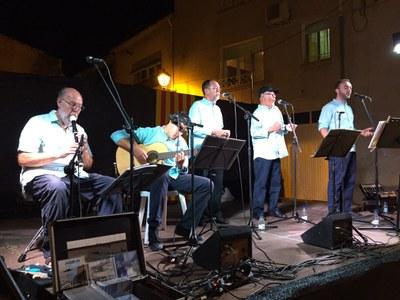 Cantada d'havaneres amb el grup Norai i rom cremat abans de la Festa Major