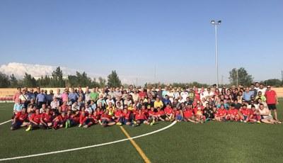 Celebració del centenari del Club de Futbol Juneda