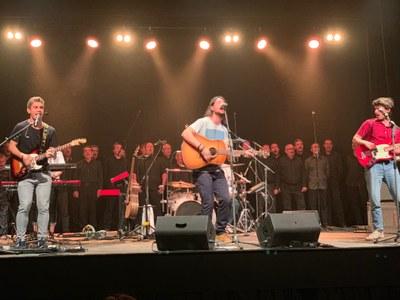 Concert d'Avstral i Enzel al Teatre Foment