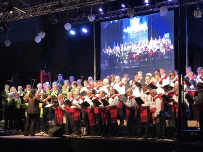 Concert de celebració del 90è aniversari dels Cantaires de Juneda