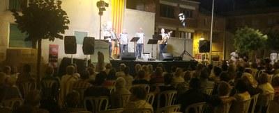 Continuen els preludis de la Festa Major de Juneda amb les Havaneres a la Fresca