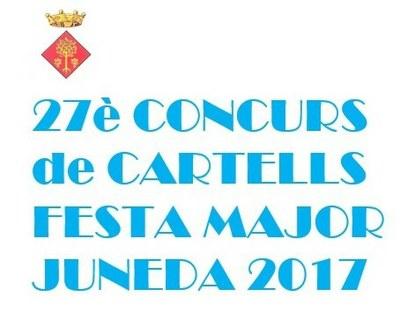 Convocades les Bases per al Concurs de Cartells de la Festa Major 2017