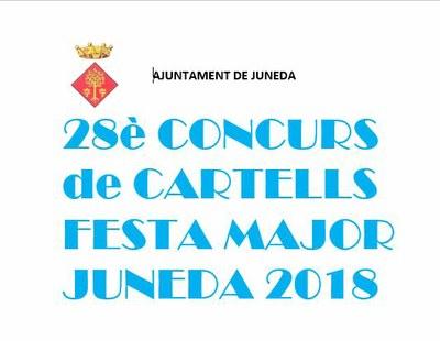 Convocat el 28è Concurs de Cartells de la Festa Major de Juneda 2018
