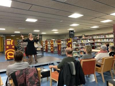 Darrera activitat de les Biblioteques amb DO a la Biblioteca Joan Duch de Juneda