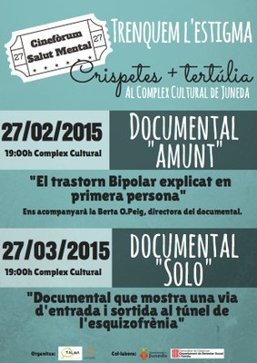 Doble sessió de cinefòrum al Complex Cultural sobre la temàtica de salud mental
