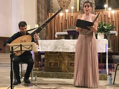 Duet Fantova-Pisa a l'Església de Juneda dins del marc del Garrigues Guitar Festival