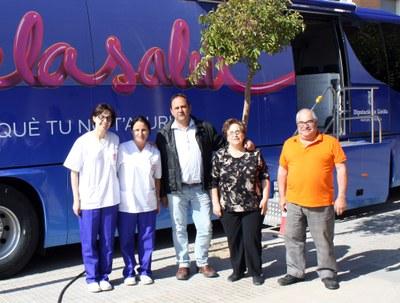 El 'Bus de la Salut' ja és a Juneda
