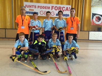 El CH Juneda acaba sisè al Campionat de Catalunya benjamí