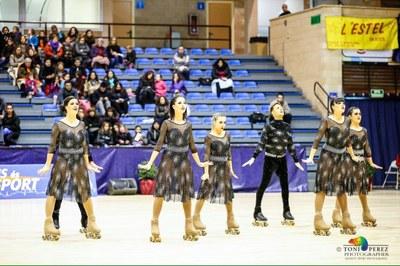 El Grup Xou del CH Juneda, quart a l'Estatal, es classifica pel Campionat d'Europa