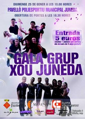 El Pavelló Municipal acull el diumenge 25 de gener la Gala Grup Xou Juneda