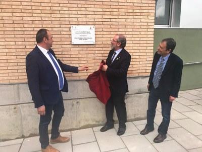 El President de la Diputació, Joan Reñé, ha inaugurat aquest dissabte dia 10 de març, el CRAE de Juneda