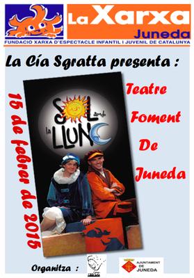 'El sol amb la lluna', diumenge teatre al Teatre Foment