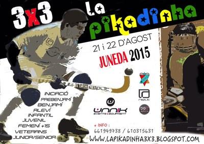 El torneig 3x3 La Pikadinha ompliràd'hoquei per a totes les edats el poliesportiu els dies 21 i 22 d'agost