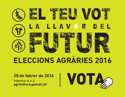 Eleccions Agràries 2016