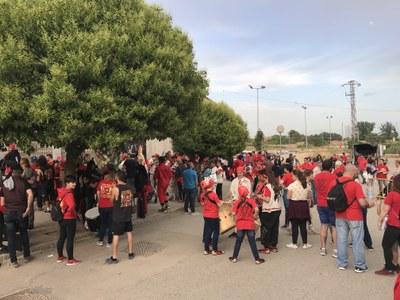 Els Rojos de Junda organitzen la primera trobada de colles infantils de diables a Juneda