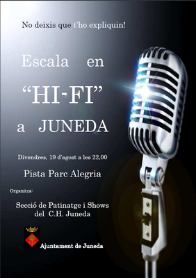 Escala en HI-FI a Juneda