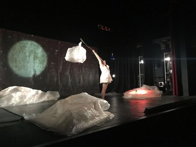 Espectacle de Dansa-Teatre per a infants a partir de 2 anys al Teatre Foment de Juneda