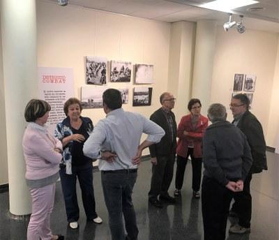 Exposició 'Els primers Trets de Francesc Boix', al Complex Cultural de Juneda, dins del Dia Internacional dels Museus
