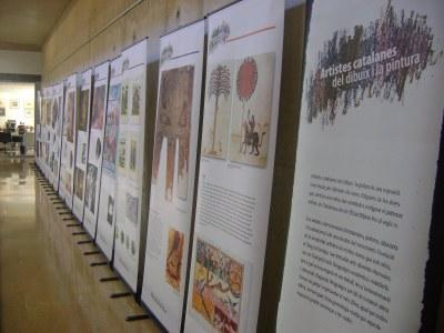 Exposició d'artistes catalanes a la Biblioteca del 2 al 30 de març