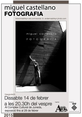 Exposició fotogràfica del 14 de febrer al 28 de març al Complex Cultural