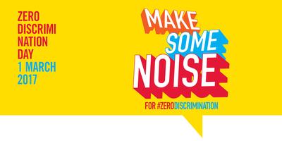 'Fem soroll per la discriminació Zero'