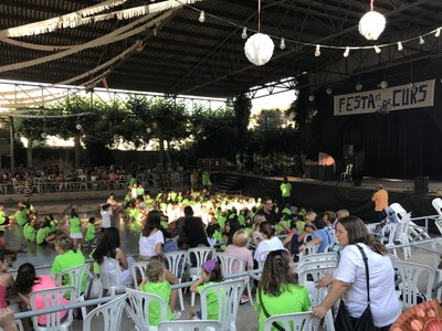 Festa de fi de curs de l'AMPA de l'escola Manuel Ortiz de Juneda