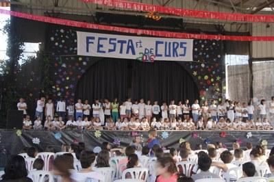 Festa de Fi de curs de l'escola Manuel Ortiz