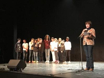 Festa Literària del 16è Premi escolar de Poesia Joan Duch