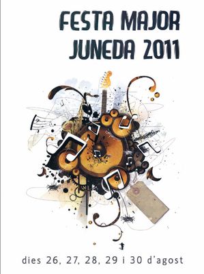 FESTA MAJOR DE JUNEDA 2011!