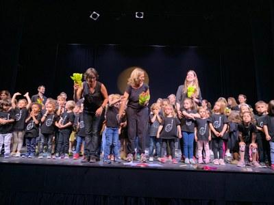 Final de curs dels alumnes més petits de l'Escola de Música de les Garrigues