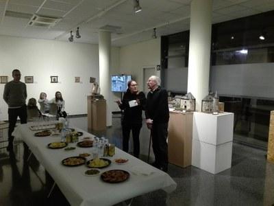 Inauguració de l'exposició 'Miniatures del Pirineu' de Joan Escolà
