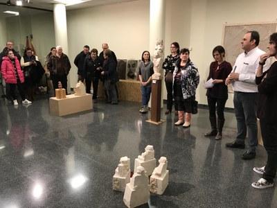 Inauguració de l'exposició 'Seguint el Camí'