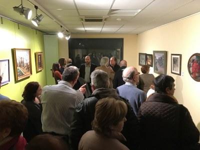 Inauguració exposició 'Mestres de la Pintura Lleidatana, segles XIX i XX'