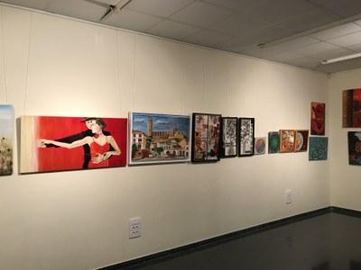 Inauguració exposició Taller de Pintura