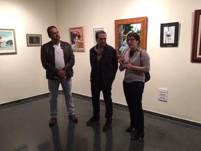 Inaugurada l'exposició del lleidatàRafael Palacios al Complex Cultural