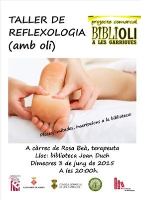 Inscriu-te ja al Taller de Reflexologia