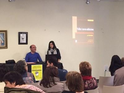 José Luis Trujillo va parlar sobre addiccions al Complex Cultural
