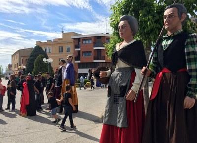 Juneda, capital catalana de geganters per un dia