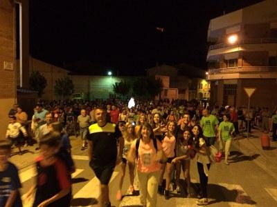 Juneda celebra amb èxit la Caminada Nocturna La Lluna i La Banqueta