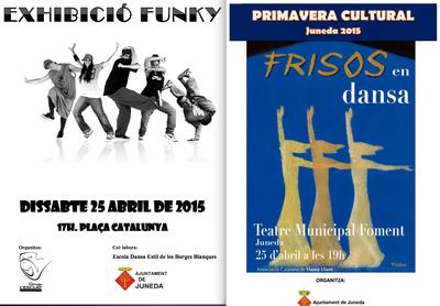 Juneda celebra el dissabte 25 el Dia Internacional de la Dansa