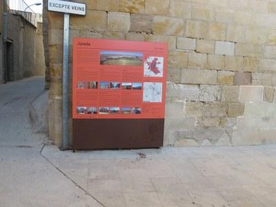 Juneda estrena nova senyalització turística dels elements patrimonials