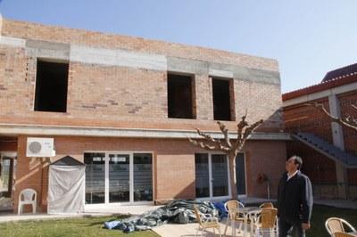 Juneda posa en marxa la segona fase de les obres de la Residència Municipal