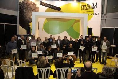 Juneda, premi al millor Pavelló Comercial durant la Fira de l'Oli de les Borges