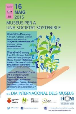 JUNEDA S'AVANÇA AL DIA INTERNACIONAL DELS MUSEUS
