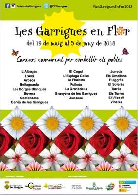 Juneda torna a participar a Les Garrigues en flor